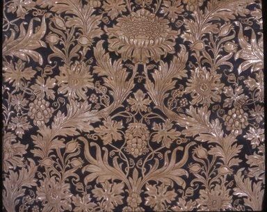 <em>Wallpaper</em>, ca. 1880. Paper, 28 1/2 x 36 1/4 in. (72.4 x 92.1 cm). Brooklyn Museum, Gift of Arlene M. and Thomas C. Ellis, 82.239.56 (Photo: Brooklyn Museum, CUR.82.239.56.jpg)