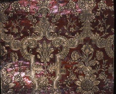 <em>Wallpaper</em>, ca. 1880. Paper, 25 x 26 in. (63.5 x 66.1 cm). Brooklyn Museum, Gift of Arlene M. and Thomas C. Ellis, 82.239.67 (Photo: Brooklyn Museum, CUR.82.239.67.jpg)