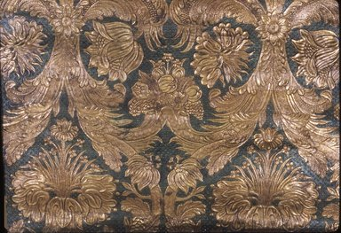 <em>Wallpaper</em>, ca. 1880. Paper, 23 x 35 7/8 in. (58.4 x 91.1 cm). Brooklyn Museum, Gift of Arlene M. and Thomas C. Ellis, 82.239.68 (Photo: Brooklyn Museum, CUR.82.239.68.jpg)