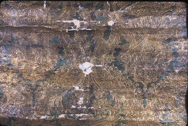 <em>Wallpaper</em>, ca. 1880. Paper, 27 x 45 1/2 in. (68.6 x 114.3 cm). Brooklyn Museum, Gift of Arlene M. and Thomas C. Ellis, 82.239.77 (Photo: Brooklyn Museum, CUR.82.239.77.jpg)