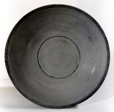 <em>Bowl</em>, 11th-12th century. Qingbai ware, buff-white stoneware, glazed, 2 3/4 x 6 5/8 in. (7 x 16.8 cm). Brooklyn Museum, Gift of Dr. Andrew Dahl, 83.112.3. Creative Commons-BY (Photo: Brooklyn Museum, CUR.83.112.3_bw.jpg)
