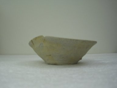 "<em>""Yamajawan"" Kiln Waster</em>, 12th century. Stoneware, Tokoname ware, 2 1/4 x 6 in. (5.7 x 15.2 cm). Brooklyn Museum, Gift of John M. Lyden, 83.169.3. Creative Commons-BY (Photo: Brooklyn Museum, CUR.83.169.3_side.jpg)"
