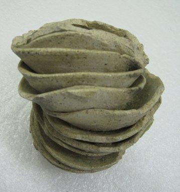 "<em>""Yamajawan"" Kiln Waster</em>, 12th century. Stoneware, Tokoname ware, 5 1/2 x 3 1/4 in. (14 x 8.3 cm). Brooklyn Museum, Gift of John M. Lyden, 83.169.5. Creative Commons-BY (Photo: Brooklyn Museum, CUR.83.169.5_detail.jpg)"