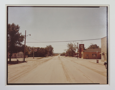 Stephen Shore (American, born 1947). <em>Untitled (Imperial Esso Dealer)</em>. Chromogenic photograph Brooklyn Museum, Gift of Elliot Abrams, 83.264.2. © artist or artist's estate (Photo: , CUR.83.264.2_StephenShore_photograph.jpg)