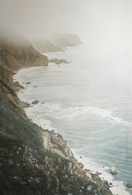 Stephen McMillan (American, born 1949). <em>Big Sur</em>, 1983. Aquatint etching on paper, sheet: 41 1/2 x 29 11/16 in. (105.4 x 75.4 cm). Brooklyn Museum, Gift of Katherine Lincoln Press, 83.77.3. © artist or artist's estate (Photo: Image courtesy of Stephen McMillan, CUR.83.77.3_StephenMcmillan_photograph.jpg)