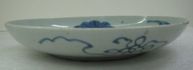 <em>Imari Ware Blue and White Vase</em>, 18th century. Porcelain, 2 x 10 7/8 in. (5.1 x 27.6 cm). Brooklyn Museum, Gift of Dr. and Mrs. John P. Lyden, 84.196.17. Creative Commons-BY (Photo: Brooklyn Museum, CUR.84.196.17_side.jpg)