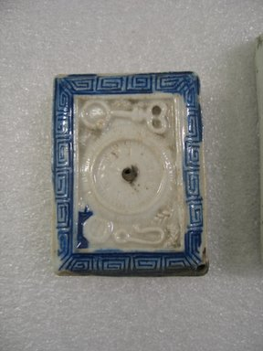 <em>Hirado Ware Suiteki (Water-Dropper)</em>, 19th century. White porcelain, 1 1/2 x 2 5/8 in. (3.8 x 6.7 cm). Brooklyn Museum, Gift of Dr. Kenneth Rosenbaum, 84.203.17. Creative Commons-BY (Photo: Brooklyn Museum, CUR.84.203.17_view1.jpg)