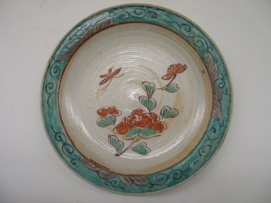 <em>Kutani Dish</em>, 19th century. Porcelain Brooklyn Museum, Gift of Mr. and Mrs. David Goldschild, 84.249.3. Creative Commons-BY (Photo: Brooklyn Museum, CUR.84.249.3_front.jpg)