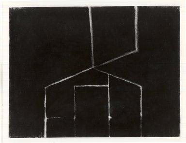 Frances Hynes (American, born 1945). <em>Freemont Barn I</em>, 1984. Charcoal on paper, 18 1/2 x 25 in. (47 x 63.5 cm). Brooklyn Museum, Designated Purchase Fund, 85.257.2. © artist or artist's estate (Photo: Brooklyn Museum, CUR.85.257.2.jpg)
