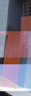 Jenny Okun (American, born 1953). <em>Los Angeles Warehouse II</em>, 1985. Chromogenic photograph, sheet: 61 7/8 × 29 7/8 in. (157.2 × 75.9 cm). Brooklyn Museum, Designated Purchase Fund, 85.259. © artist or artist's estate (Photo: Image courtesy of the artist, CUR.85.259_artist_photograph.jpg)
