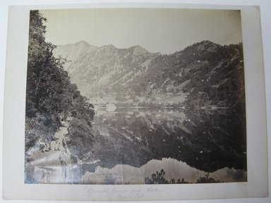 "Samuel Bourne (British, 1834-1912). <em>Print from ""Views of India,""</em> 1862-1872. Albumen silver photograph, 9 x 11 1/2 in. (22.9 x 29.2 cm). Brooklyn Museum, Gift of Matthew Dontzin, 85.274.1 (Photo: Brooklyn Museum, CUR.85.274.1.jpg)"