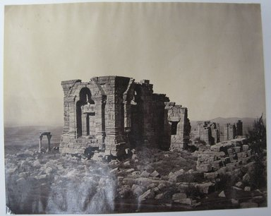 "Samuel Bourne (British, 1834-1912). <em>Print from ""Views of India,""</em> 1862-1872. Albumen silver photograph, 8 1/4 x 10 3/4 in. (21 x 27.3 cm). Brooklyn Museum, Gift of Matthew Dontzin, 85.274.10 (Photo: Brooklyn Museum, CUR.85.274.10.jpg)"