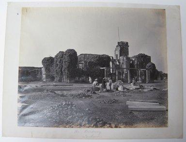 "Samuel Bourne (British, 1834-1912). <em>Print from ""Views of India,""</em> 1862-1872. Albumen silver photograph, 9 x 11 1/2 in. (22.9 x 29.2 cm). Brooklyn Museum, Gift of Matthew Dontzin, 85.274.5 (Photo: Brooklyn Museum, CUR.85.274.5.jpg)"