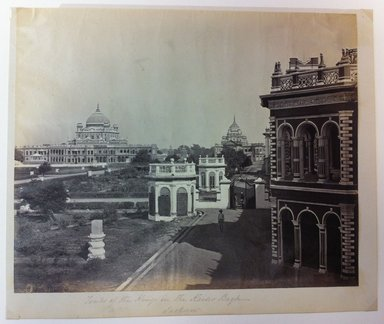 "Samuel Bourne (British, 1834-1912). <em>Print from ""Views of India,""</em> 1862-1872. Albumen silver photograph, 9 x 11 in. (22.9 x 27.9 cm). Brooklyn Museum, Gift of Matthew Dontzin, 85.274.6 (Photo: Brooklyn Museum, CUR.85.274.6.jpg)"