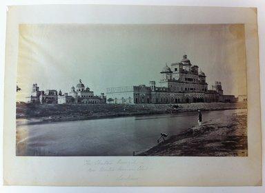 "Samuel Bourne (British, 1834-1912). <em>Print from ""Views of India,""</em> 1862-1872. Albumen silver photograph, 7 x 12 in. (17.8 x 30.5 cm). Brooklyn Museum, Gift of Matthew Dontzin, 85.274.8 (Photo: Brooklyn Museum, CUR.85.274.8.jpg)"