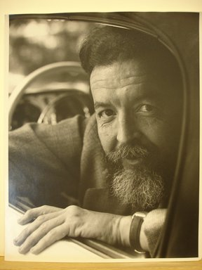 Philippe Halsman (American, born Latvia, 1906-1979). <em>Randall Jarrell</em>, 1958. Gelatin silver photograph Brooklyn Museum, Gift of Dr. and Mrs. Arthur E. Kahn, 85.294.12. © artist or artist's estate (Photo: Brooklyn Museum, CUR.85.294.12.jpg)