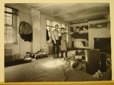 Philippe Halsman (American, born Latvia, 1906-1979). <em>Paul Newman and Joanne Woodward</em>. Gelatin silver photograph Brooklyn Museum, Gift of Dr. and Mrs. Arthur E. Kahn, 85.294.2. © artist or artist's estate (Photo: Brooklyn Museum, CUR.85.294.2.jpg)
