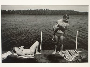 Dick Blau (American, born 1943). <em>Scenes from a Wisconsin Summer</em>, 1978, printed 1986. Gelatin silver photograph, image: 8 x 11 7/8 in. (20.3 x 30.2 cm). Brooklyn Museum, Gift of the artist, 86.203. © artist or artist's estate (Photo: Brooklyn Museum, CUR.86.203.jpg)