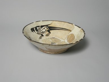 <em>Bowl</em>, 10th century. Ceramic, glaze, 2 7/16 x 8 3/8 in. (6.2 x 21.3 cm). Brooklyn Museum, Gift of the Ernest Erickson Foundation, Inc., 86.227.20. Creative Commons-BY (Photo: Brooklyn Museum, CUR.86.227.20_exterior.jpg)