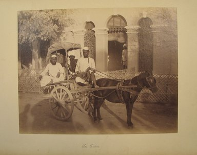 Possibly Samuel Bourne (British, 1834-1912). <em>Print from Album of Photographs: Architecture in India</em>, 1862-1872. Albumen silver photograph, 7 5/16 x 9 5/16 in. (18.6 x 23.7 cm). Brooklyn Museum, Gift of Matthew Dontzin, 86.256.10 (Photo: Brooklyn Museum, CUR.86.256.10.jpg)