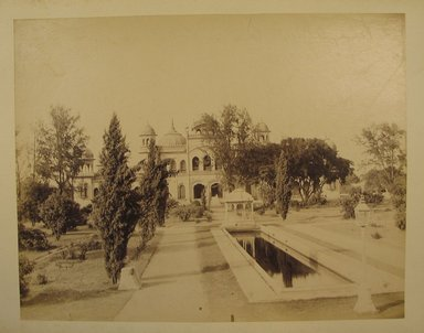 Possibly Samuel Bourne (British, 1834-1912). <em>Print from Album of Photographs: Architecture in India</em>, 1862-1872. Albumen silver photograph, 8 1/4 x 10 5/8 in. (21 x 27 cm). Brooklyn Museum, Gift of Matthew Dontzin, 86.256.12 (Photo: Brooklyn Museum, CUR.86.256.12.jpg)