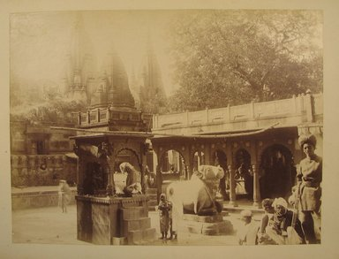 Possibly Samuel Bourne (British, 1834-1912). <em>Print from Album of Photographs: Architecture in India</em>, 1862-1872. Albumen silver photograph, 8 1/16 x 10 13/16 in. (20.5 x 27.4 cm). Brooklyn Museum, Gift of Matthew Dontzin, 86.256.13 (Photo: Brooklyn Museum, CUR.86.256.13.jpg)