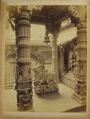 Samuel Bourne (British, 1834-1912). <em>Print from Album of Photographs: Architecture in India</em>, 1862-1872. Albumen silver photograph, 11 13/16 x 8 15/16 in. (30 x 22.7 cm). Brooklyn Museum, Gift of Matthew Dontzin, 86.256.14 (Photo: Brooklyn Museum, CUR.86.256.14.jpg)