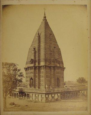 Samuel Bourne (British, 1834-1912). <em>Print from Album of Photographs: Architecture in India</em>. Albumen silver photograph, 12 x 9 9/16 in. (30.5 x 24.3 cm). Brooklyn Museum, Gift of Matthew Dontzin, 86.256.20 (Photo: Brooklyn Museum, CUR.86.256.20.jpg)