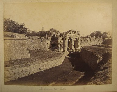 Samuel Bourne (British, 1834-1912). <em>Print from Album of Photographs: Architecture in India</em>, 1863-1866. Albumen silver photograph, 8 7/8 x 11 13/16 in. (22.6 x 30 cm). Brooklyn Museum, Gift of Matthew Dontzin, 86.256.4 (Photo: Brooklyn Museum, CUR.86.256.4.jpg)