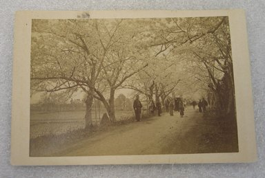 <em>View of Japan</em>, late 19th-early 20th century. Albumen silver photograph mounted on cardboard, with mounting: 4 5/16 x 6 7/16 in. (10.9 x 16.3 cm). Brooklyn Museum, Gift of Matthew Dontzin, 86.256.43 (Photo: Brooklyn Museum, CUR.86.256.43.jpg)