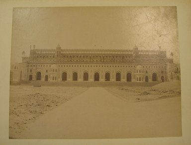Possibly Samuel Bourne (British, 1834-1912). <em>Print from Album of Photographs: Architecture in India</em>. Albumen silver photograph, 8 3/8 x 10 5/8 in. (21.2 x 27 cm). Brooklyn Museum, Gift of Matthew Dontzin, 86.256.5 (Photo: Brooklyn Museum, CUR.86.256.5.jpg)