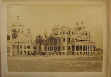 Samuel Bourne (British, 1834-1912). <em>Print from Album of Photographs: Architecture in India</em>. Albumen silver photograph, 8 1/4 x 11 13/16 in. (21 x 30 cm). Brooklyn Museum, Gift of Matthew Dontzin, 86.256.8 (Photo: Brooklyn Museum, CUR.86.256.8.jpg)