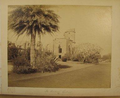 Samuel Bourne (British, 1834-1912). <em>Print from Album of Photographs: Architecture in India</em>. Albumen silver photograph, 8 11/16 x 11 in. (22 x 28 cm). Brooklyn Museum, Gift of Matthew Dontzin, 86.256.9 (Photo: Brooklyn Museum, CUR.86.256.9.jpg)