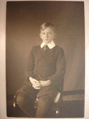 Charles H. Breed (American, 1876-1950). <em>Hap Breed</em>, ca. 1919. Gelatin silver photograph, 6 1/2 x 4 1/2 in. (16.5 x 11.4 cm). Brooklyn Museum, Gift of Jack Lubiner, 86.50.3. © artist or artist's estate (Photo: Brooklyn Museum, CUR.86.50.3.jpg)