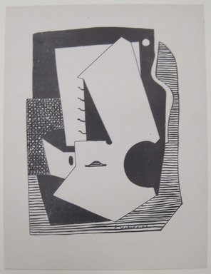 Esphyr Slobodkina (American, born Russia, 1908-2002). <em>[Untitled]</em>, 1937. Off-set lithograph on off-white wove paper, sheet: 11 15/16 x 9 1/8 in. (30.4 x 23.1 cm). Brooklyn Museum, Purchased with funds given by an anonymous donor, 88.54.26. © artist or artist's estate (Photo: Brooklyn Museum, CUR.88.54.26.jpg)