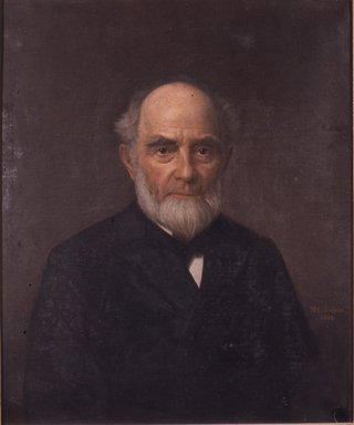 Thomas Martin Jensen (American, 1831-1916). <em>General Jesse C. Smith</em>, 1888. Oil on canvas, 30 1/16 x 25 1/16 in. (76.3 x 63.6 cm). Brooklyn Museum, Transferred from the Brooklyn Institute of Arts and Sciences to the Brooklyn Museum, 97.32 (Photo: Brooklyn Museum, CUR.97.32.jpg)