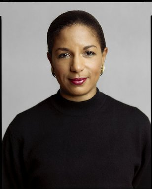 Timothy Greenfield-Sanders (American, born 1952). <em>Susan Rice</em>, 2007. Ink-jet print, Image: 52 3/8 x 42 in. (133 x 106.7 cm). Brooklyn Museum, Gift of Michael Sloane, 2016.8.4. © artist or artist's estate (Photo: Image courtesy of Devin Borden Hiram Butler Gallery, CUR.L2009.6.19_Devin_Borden_Hiram_Butler_Gallery_photo.jpg)