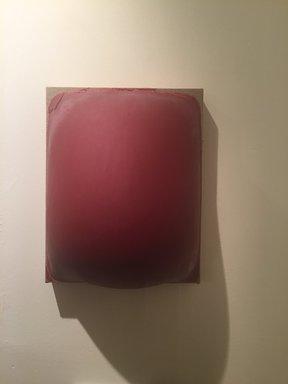 Byron Kim (American, born 1961). <em>Red Belly</em>, ca. 1992. Latex and wax on linen, 10 × 8 in. (25.4 × 20.3 cm). Brooklyn Museum, Gift of Martin and Rebecca Eisenberg, 2016.30.3 (Photo: , CUR.TL2016.41.3.jpg)