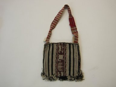 Aymara. <em>Bag</em>. Wool, 8 × 8 × 1/2 in. (20.3 × 20.3 × 1.3 cm). Brooklyn Museum, Brooklyn Museum Collection, X387. Creative Commons-BY (Photo: Brooklyn Museum, CUR.X387.jpg)