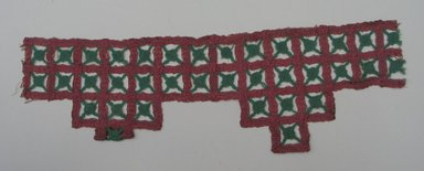 <em>Indian Textile</em>. Embroidery, 13 3/4 x 4 3/8 in.  (34.9 x 11.1 cm). Brooklyn Museum, Brooklyn Museum Collection, X647.3. Creative Commons-BY (Photo: Brooklyn Museum, CUR.X647.3.jpg)