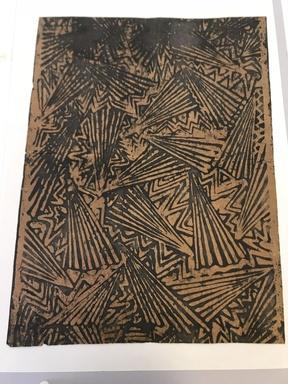<em>Fragment of Fuya</em>. Beaten bark cloth, 22 1/2 x 17 in. (57.2 x 43.2 cm). Brooklyn Museum, Brooklyn Museum Collection, X872.4. Creative Commons-BY (Photo: , CUR.X872.4.jpg)