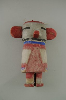 Hopi Pueblo. <em>Kachina Doll (Kahaila [Turtle])</em>, 1868-1907. Wood, pigment, 6 x 4 1/2in. (15.2 x 11.5cm). Brooklyn Museum, Brooklyn Museum Collection, X898.2. Creative Commons-BY (Photo: Brooklyn Museum, CUR.X898.2_front.jpg)