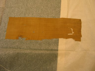 Coptic ?. <em>Textile</em>. Flax, 9 1/2 × 28 in. (24.1 × 71.1 cm). Brooklyn Museum, Brooklyn Museum Collection, X929. Creative Commons-BY (Photo: Brooklyn Museum, CUR.X929_view1.jpg)