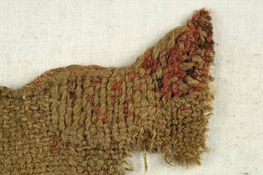 Coptic ?. <em>Fragment of Check Pattern</em>. Wool, 5 x 5 in. (12.7 x 12.7 cm). Brooklyn Museum, Brooklyn Museum Collection, X938. Creative Commons-BY (Photo: Brooklyn Museum (in collaboration with Index of Christian Art, Princeton University), CUR.X938_detail01_ICA.jpg)
