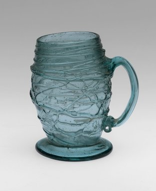 <em>Mug</em>, mid 18th century. Glass