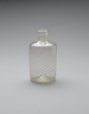 <em>Bottle</em>, ca. 1700. Glass, 4 1/2 x 2 1/8 in. (11.4 x 5.4 cm). Brooklyn Museum, Gift of Wunsch Foundation, Inc., 2008.20.9. Creative Commons-BY (Photo: Brooklyn Museum, L2006.1.7_PS1.jpg)