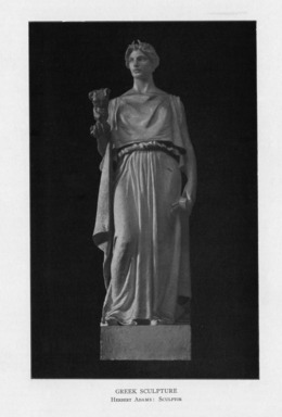 Herbert Adams (American, 1858-1945). <em>Greek Sculpture</em>, 1909. Indiana limestone, Approx. height: 144 in. (365.8 cm). Brooklyn Museum, Gift of the City of New York, Parks and Recreation, 09.937.24. Creative Commons-BY (Photo: , PER_Bulletin_of_the_Brooklyn_Institute_of_Arts_and_Sciences_v02_p136_09.937.24.jpg)