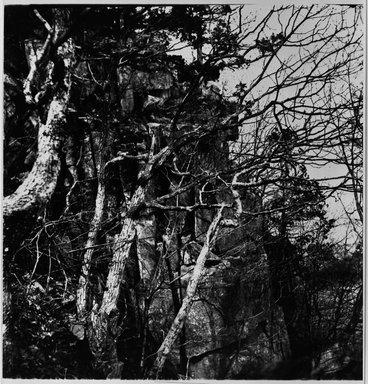 George Bradford Brainerd (American, 1845-1887). <em>Fort Lee, N.J. From Top of Palisades</em>, May 9, 1875, printed 1940's. Gelatin silver photograph, image: 13 3/4 x 10 11/16 in. (34.9 x 27.1 cm). Brooklyn Museum, Brooklyn Museum Collection, X894.137 (Photo: Brooklyn Museum, X894.137_bw.jpg)