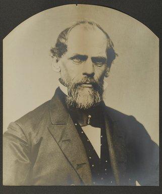 Unknown. <em>John Augustus Roebling</em>, ca. 1866-1867. Gelatin silver photograph, Image: 12 x 15 in. (30.5 x 38.1 cm). Brooklyn Museum, Brooklyn Museum Collection, X882 (Photo: Brooklyn Museum, x882_PS1.jpg)