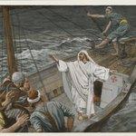 Jesus Stilling the Tempest (Jésus calmant la tempête)